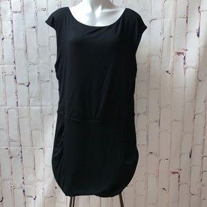Athleta Black Westwood Dress XL Stretch BodyCon
